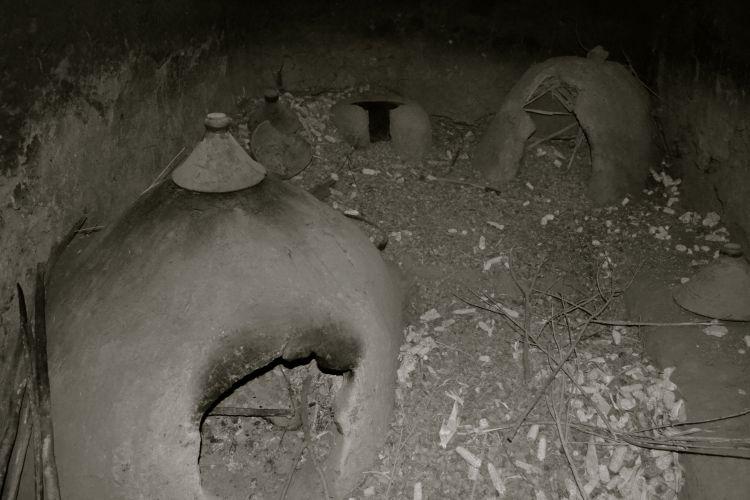 Fornos de uma casa bérbere